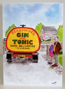 Country Card's Novelty Greeting Cards. Gin & Diets!!!